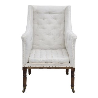 Regency Library Armchair, Circa 1810