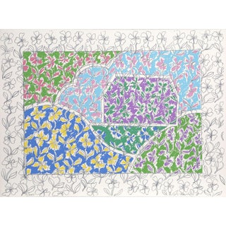 George Chemeche, Purple Barn, Lithograph