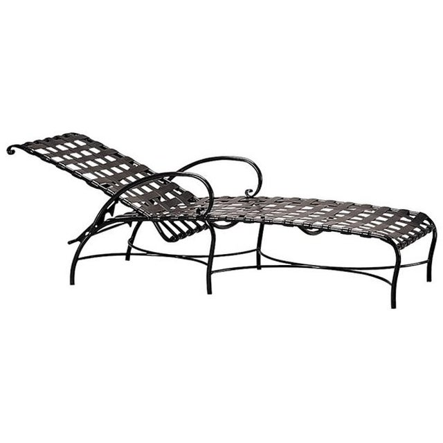 Brown Jordan Roma Strap Collection Chaise Lounger - Image 1 of 4