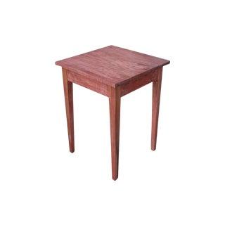 Shaker Sedona Poplar Side Table