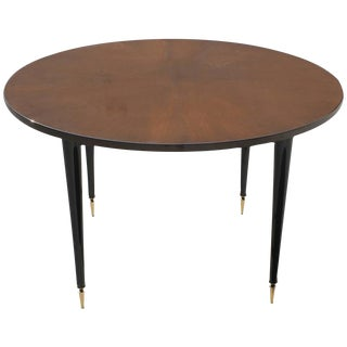 French Art Deco Round Dining Table