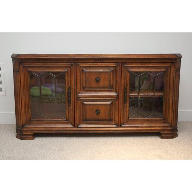 Aspen Home Barolo Collection Media Console Cabinet - Image 2 of 8