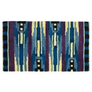 Rya Style Modern Wool Shag Rug - 3' x 5'