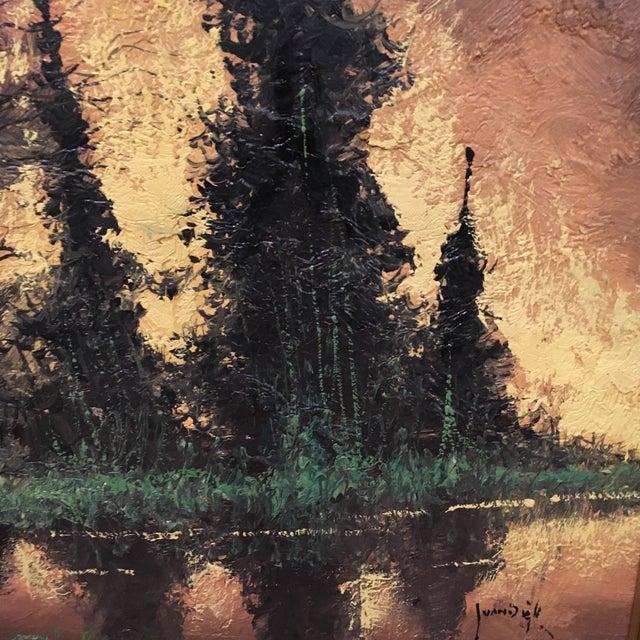 Vintage Framed Landscape Painting - Image 5 of 9