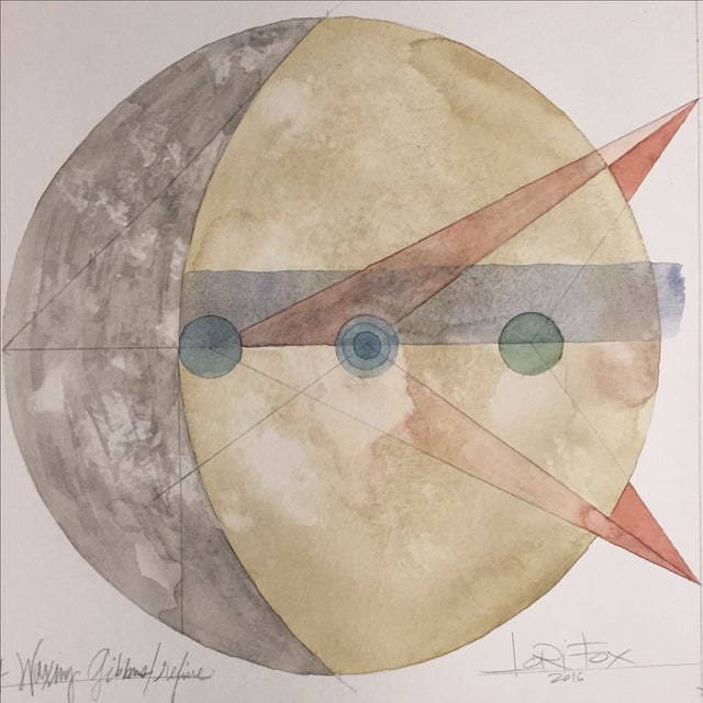 """Image of """"Refine"""" Moon Cycle Painting"""