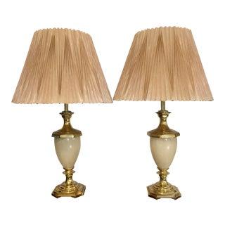Vintage Boudoir Table Lamps- A Pair