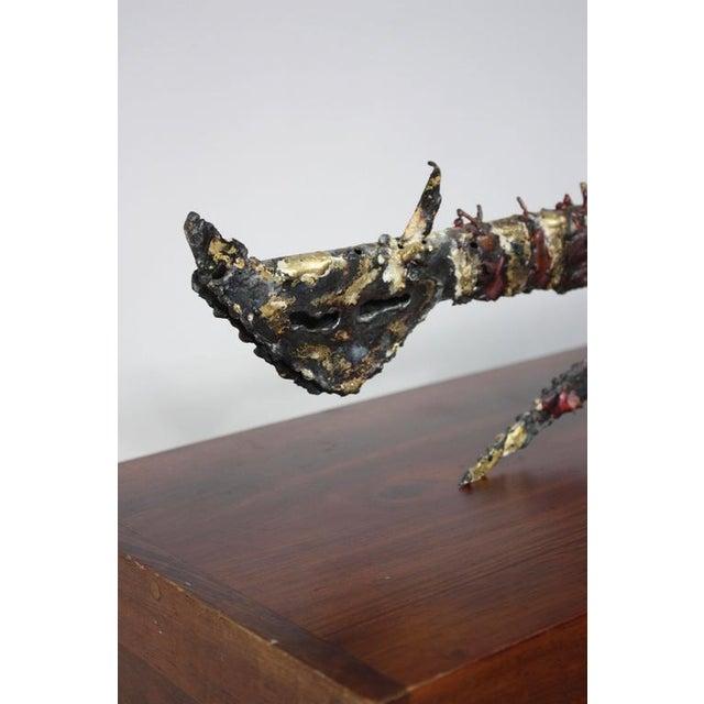 James Bearden Cat Sculpture - Image 6 of 10