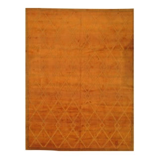 Pasargad N Y Contemporary Tibetan 9′2″ × 12′2″ Hand Knotted Rug