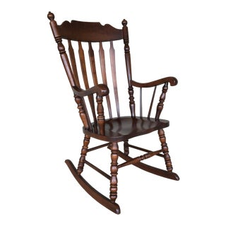 Boston Style Windsor Rocking Chair
