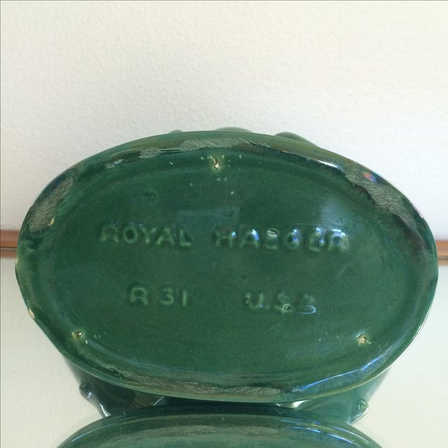Image of Royal Haeger Peacock Vase