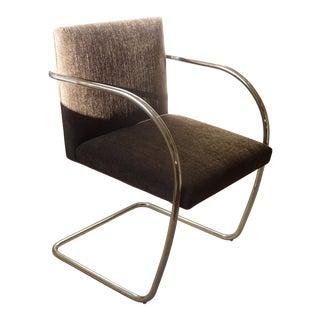 Knoll Chrome Armchair