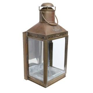 Viking Vintage Brass Lantern