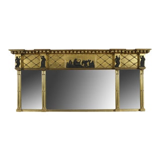 Federal Overmantel Mirror