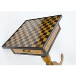 Image of 19th Century Italian Walnut Game Table