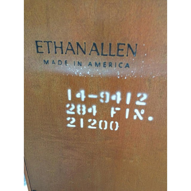 Image of Ethan Allen Solid Maple Jelly Cabinet