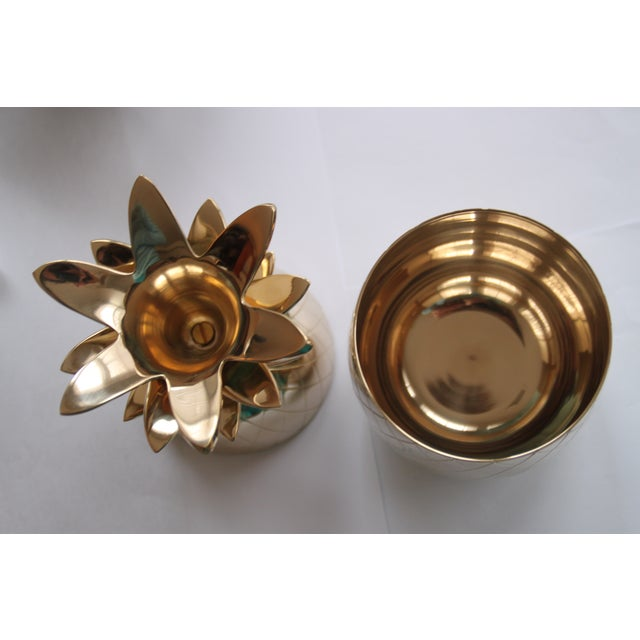 Brass Pineapple Box - Image 2 of 2