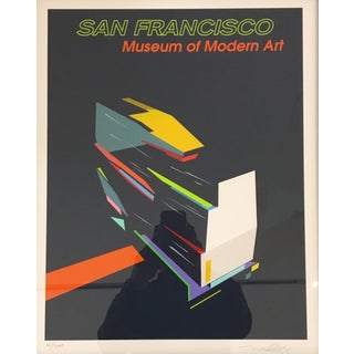 Modern San Francisco Print by Michael Murphy
