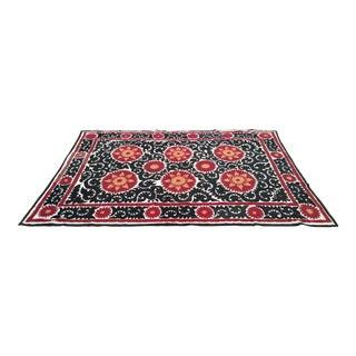 Vintage Large Bukhara Suzani Tapestry