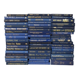 Blue & Gold Books - Set of 58