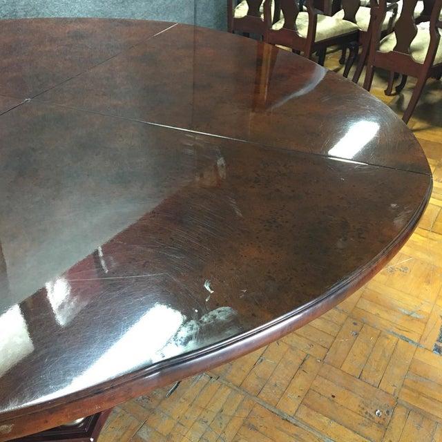 Expandable Circular Dining Table Chairish