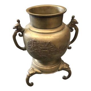 Brass Chinese Urn, 1900s
