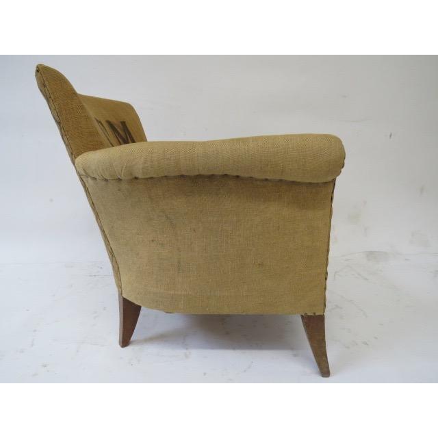 Grain Sacks Upholstered Club Chair Chairish