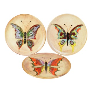 Mid-Century Butterfly Plates - 3