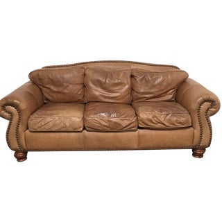 Custom Leather Sofa