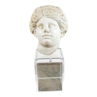 18th Century, Neoclassical Marble Bust