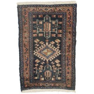 Persian Hamedan Wool Rug - 2′10″ × 4′3″