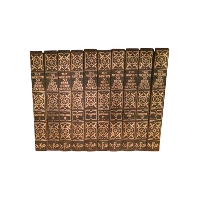 Vintage Decorative Books - Set of 10 - Image 1 of 6