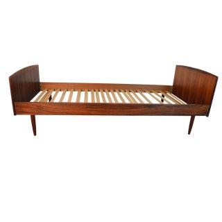 Mid-Century Danish Rosewood Twin Bed