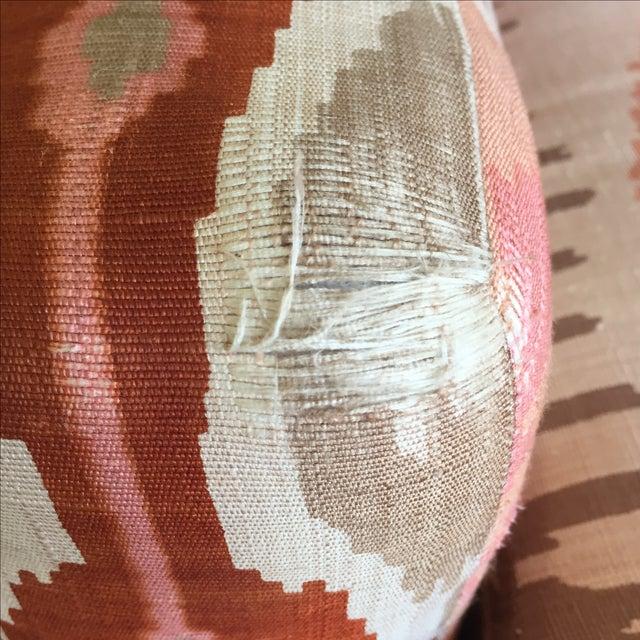 Martin Brattrud Ikat Sofa - Image 7 of 9