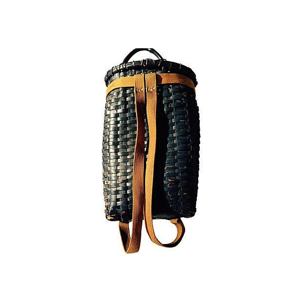 Primitive American Pack Basket - Image 3 of 4