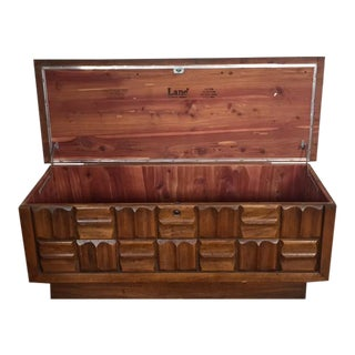 Lane Mid-Century Love Chest/Trunk