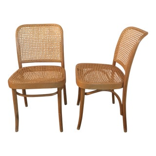 Bentwood Thonet Side Chairs - a Pair