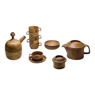 """""""Compact"""" Tea Set by Ambrogio Pozzi"""