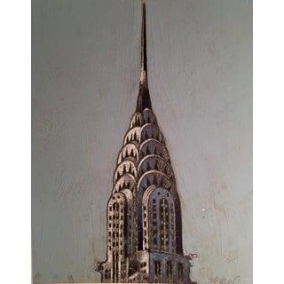 Chrysler Building Watercolor