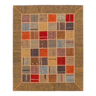 """Apadana - Persian Flat-weave, 5'3"""" x 6'7"""""""