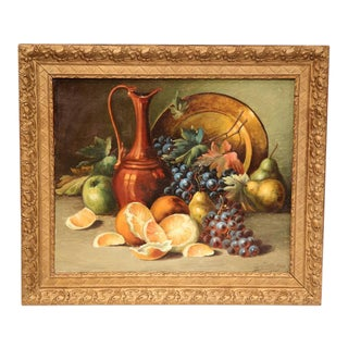 1908 French Still Life Paintings - A Pair
