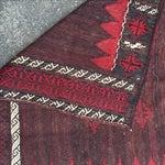 Image of Vintage Kurdish Sofra - 4′4″ × 4′2″