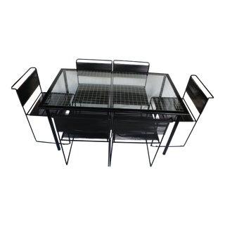 Giandomenico Belotti Spaghetti Chairs & Table- S/7