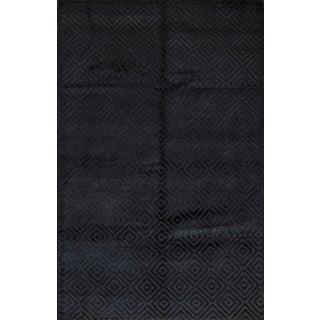 Contemporary Tibetan Hand Woven Rug - 5′10″ × 8′11″