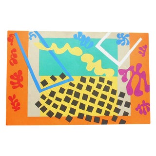 "Vintage Folio Size Matisse Print From The ""Jazz"" Portfolio"