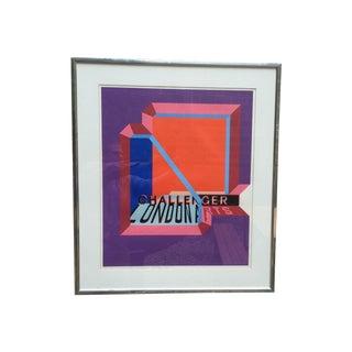 Michael Challenger 1972 Lithograph