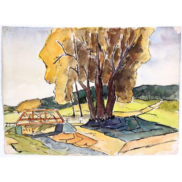 Image of Watercolor Landscape