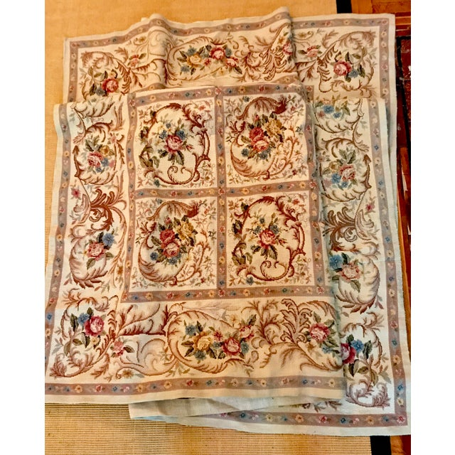 French Aubusson Needlepoint Rug - 8′6″ × 11′6″ - Image 11 of 11