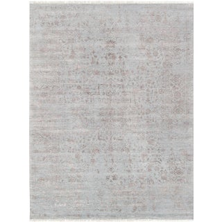 "Pasargad Transitional Silk & Wool Rug- 9'0"" x 11'11"""