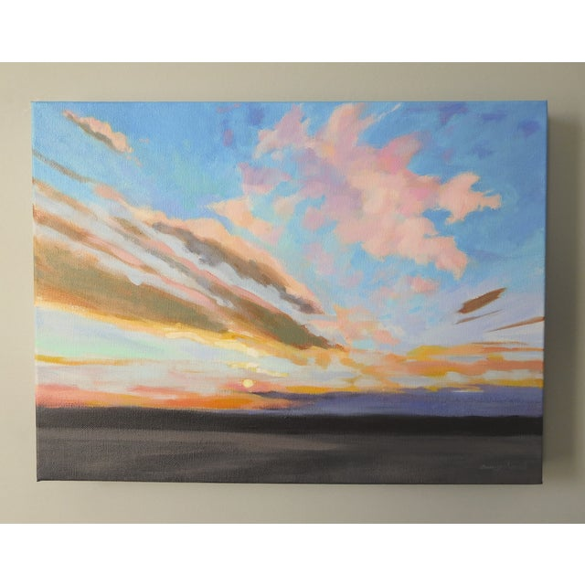 """Sunrise"" Original Painting A.Carrozza Remick - Image 6 of 7"