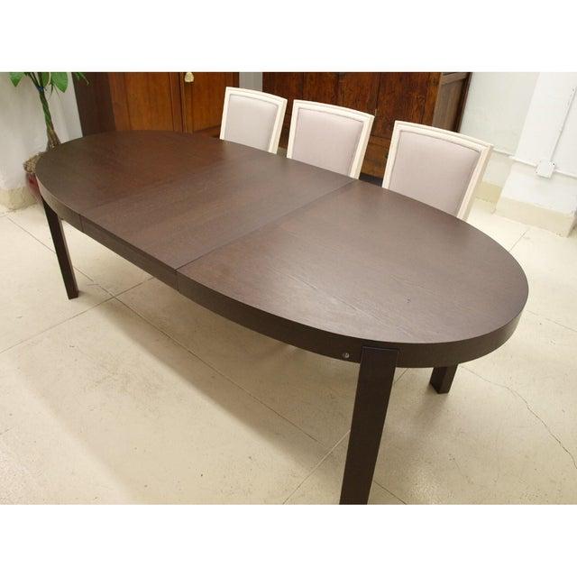Calligaris Italian Hardwood Dining Table - Image 2 of 4